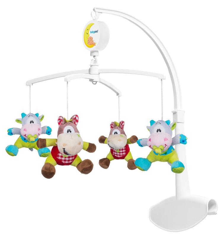BABY ONO - Kolotoč hudební kravičky a koníky 0m +