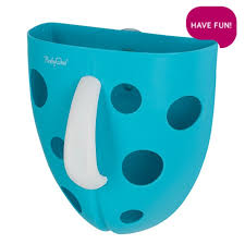BabyOno - Box na hračky do vany Tyrkysová