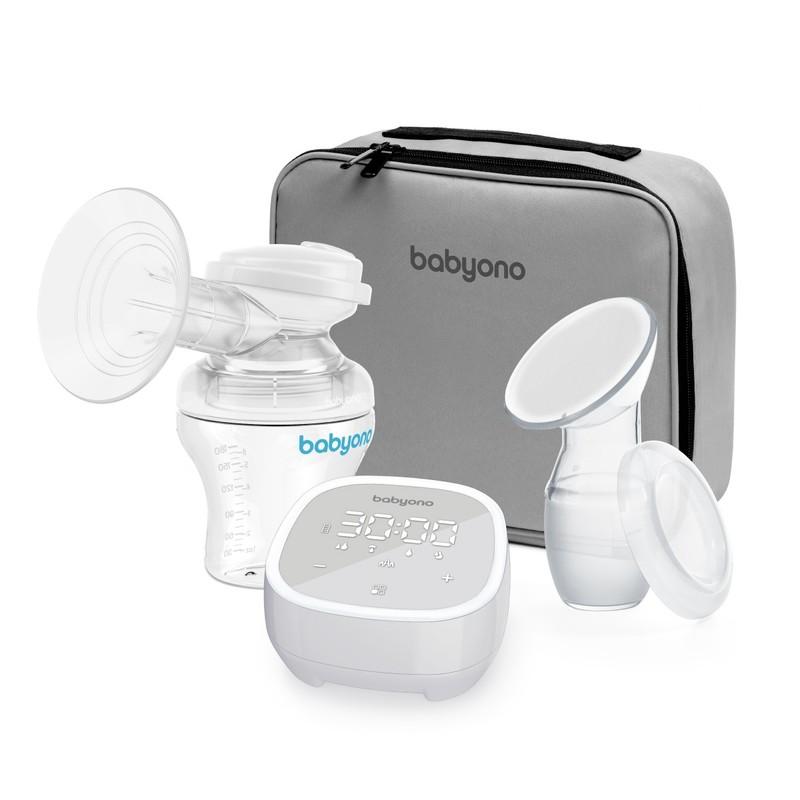 BABYONO - Odsávačka mateřského mléka elektronická -5 režimů BabyOno