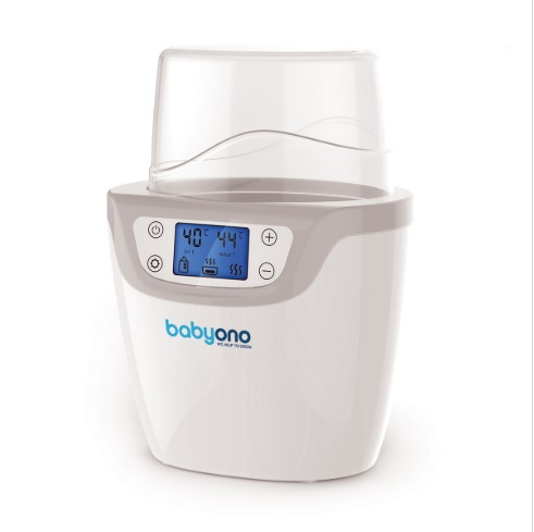 BABYONO - Ohřívač a sterilizátor digitální 2v1