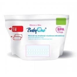 BABYONO - Sáčky do mikrovlnné trouby k sterilizaci