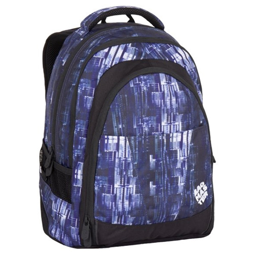 BAGMASTER - Studentský batoh DIGITAL 7 CH BLUE/BLACK