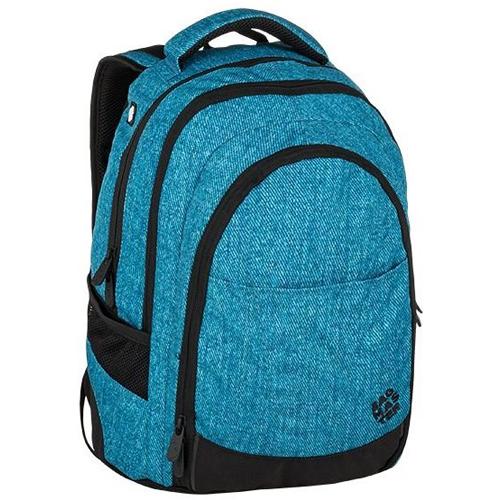 BAGMASTER - Studentský batoh DIGITAL 9 D BLUE / BLACK