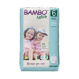 BAMBO - Nature Pants 6 Plenkové kalhotky, 18 ks, pro 18+ kg