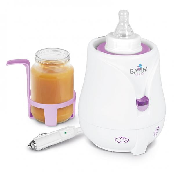 BAYBY - Ohřívač kojeneckých láhví a pokrmů - Car/Home