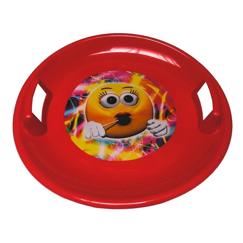 BAYO - Sněžný talíř 60 cm červený