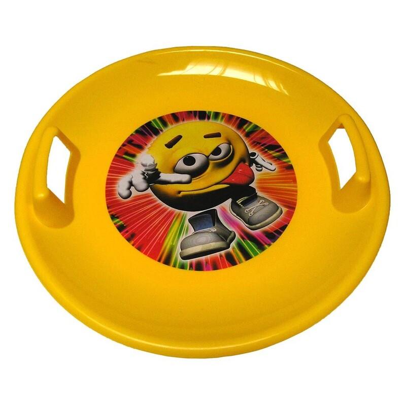 BAYO - Sněžný talíř 60 cm žlutý