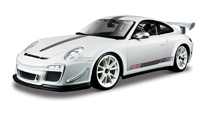 BBURAGO - 1:18 PORSCHE 911 GT3 RS WHITE