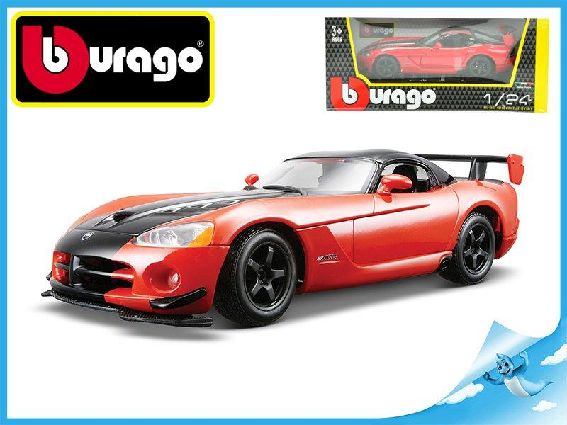 BBURAGO - 1:24 DODGE VIPER SRT 10 ACR RED