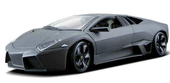 BBURAGO - 1:24 Lamborghini Reventón Metallic Grey