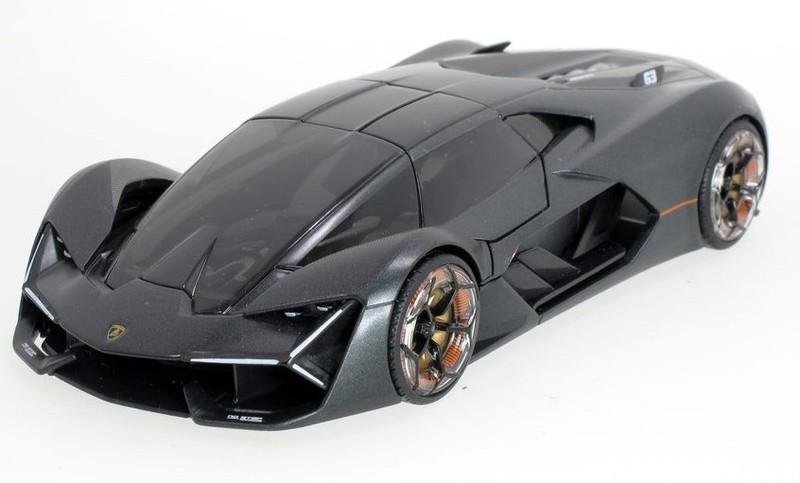 BBURAGO - 1:24 Lamborghini Terzo Millenio Grey
