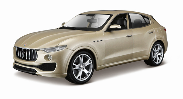 BBURAGO - 1:24 PLUS MASERATI LEVANTE GOLD