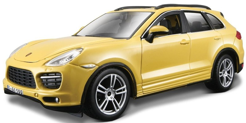 BBURAGO - 1:24 Porsche Cayenne Turbo Yellow