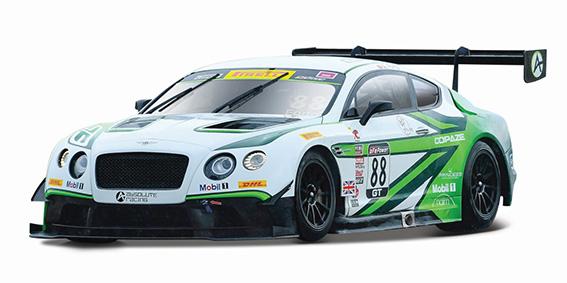 BBURAGO - 1:24 RACE BENTLEY CONTINENTAL GT3