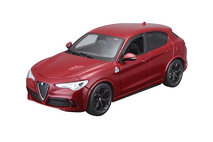 BBURAGO - 1:24 Alfa Romeo Stelvio Red
