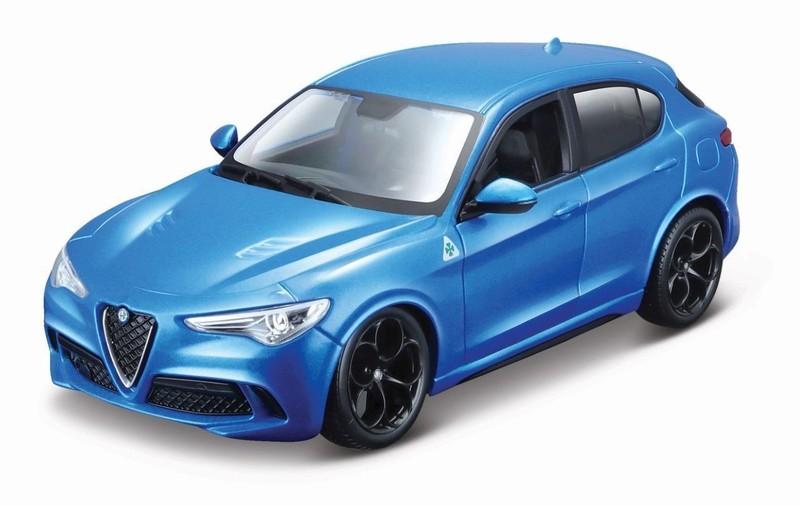 BBURAGO - Alfa Romeo Stelvio 1:24 Blue