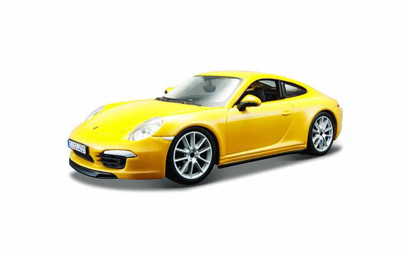 BBURAGO - Bburago 1:24 Plus Porsche 911 Carrera S Yellow