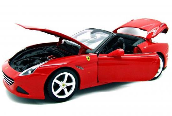 RC - RC Ferrari California T (Open Top) 1:18 Ferrari Race & Play