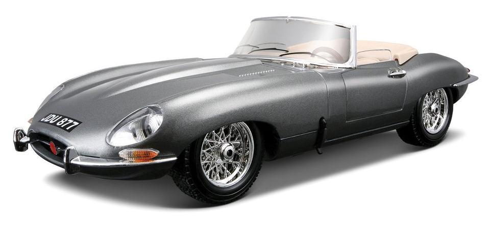 BBURAGO - Jaguar E Cabriolet (1961) 1:18