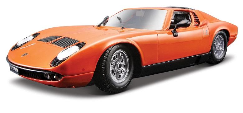 Bburago - Bburago Lamborghini Miura 1968 1:18