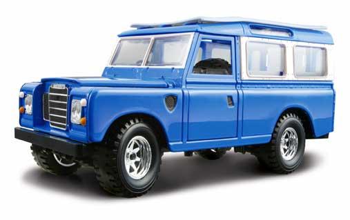 BBURAGO - Land Rover Series II 1:25