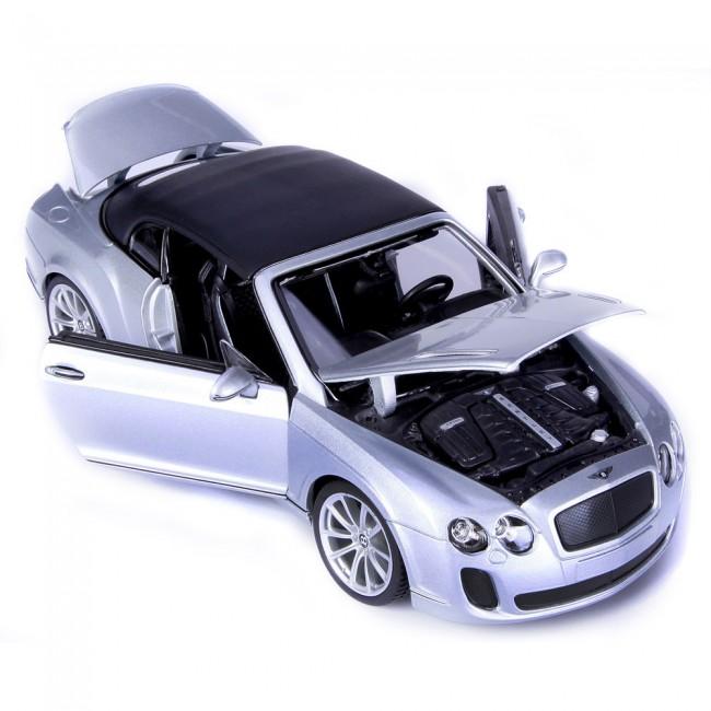 BBURAGO - Bentley Continental Supersports Convertible 1:18 PLUS