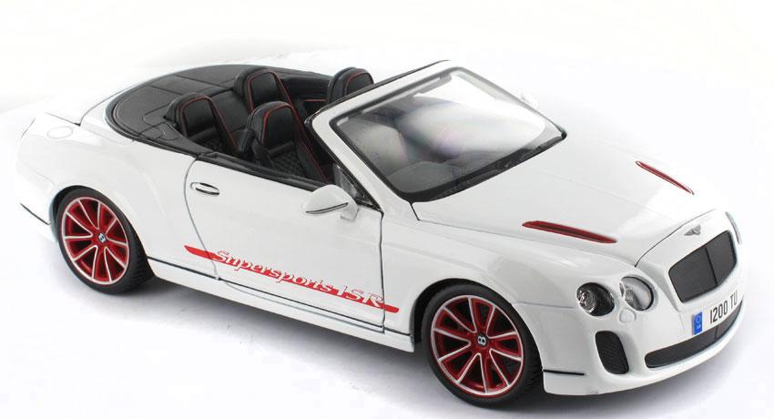 Bburago - Bentley Continental SuperSports Convertible ISR 1:18 Diamond