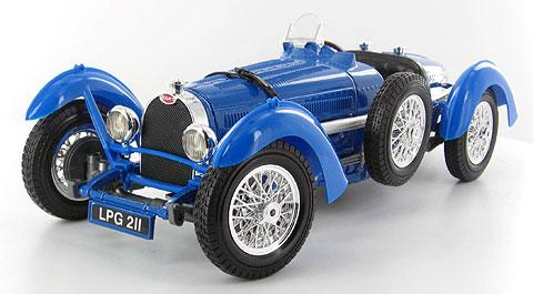 BBURAGO - Bugatti Type 59 (1934) 1:18