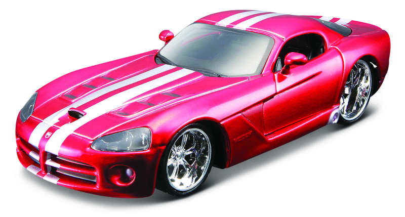 BBURAGO - Dodge Viper SRT 10 Metallic Red 1:32