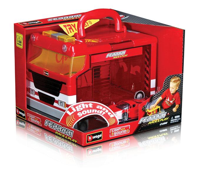 Bburago - Ferrari Cube Garáž s jedním autíčkem