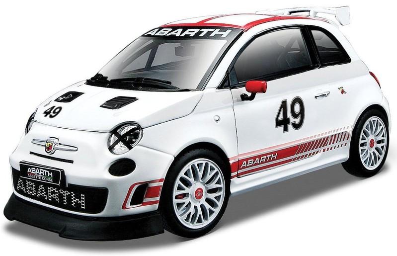 BBURAGO - Fiat Abarth 500 Assetto Corse 1:24 Race