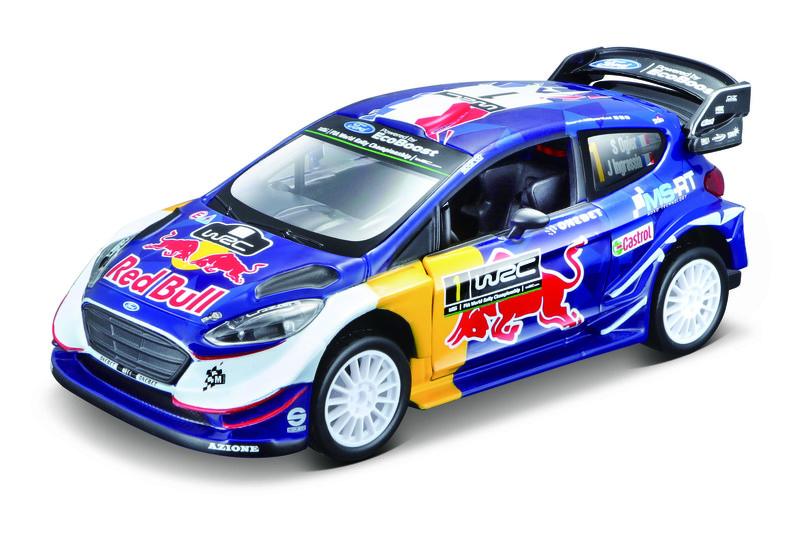 BBURAGO - Ford Fiesta WRC Sébastien Ogier 1:32