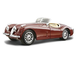 Bburago - Jaguar XK 120 Roadster KIT 1:24 Close Box