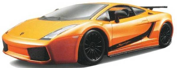 BBURAGO - Lamborghini Gallardo Superleggera 1:24 Orange