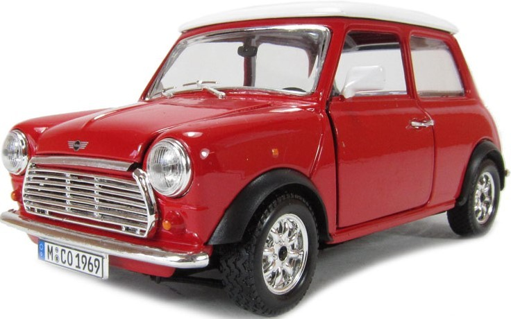 BBURAGO - Mini Cooper (1969) 1:24