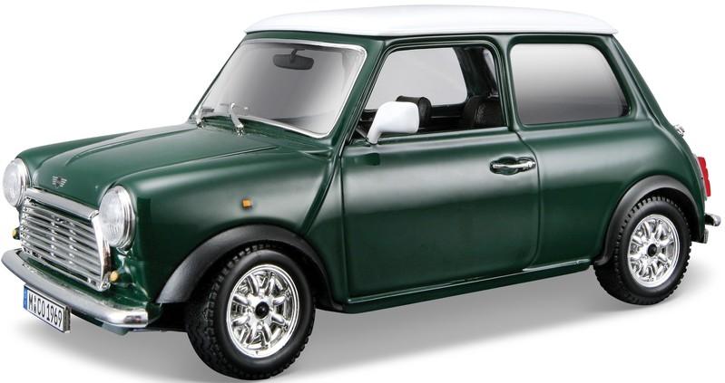 BBURAGO - Mini Cooper (1969) 1:24 Green