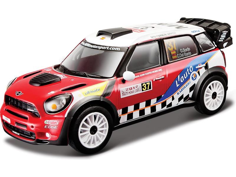 BBURAGO - Mini John Cooper Works WRC Dani Sordo 1:32