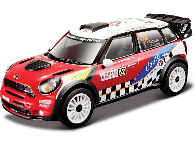 BBURAGO - Mini John Cooper Works WRC Pierre Campana 1:32