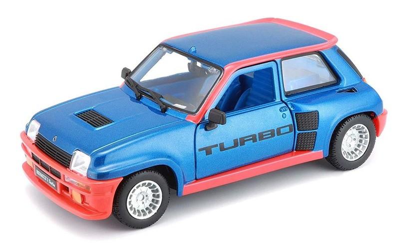 BBURAGO - Renault 5 Turbo 1:24 Blue