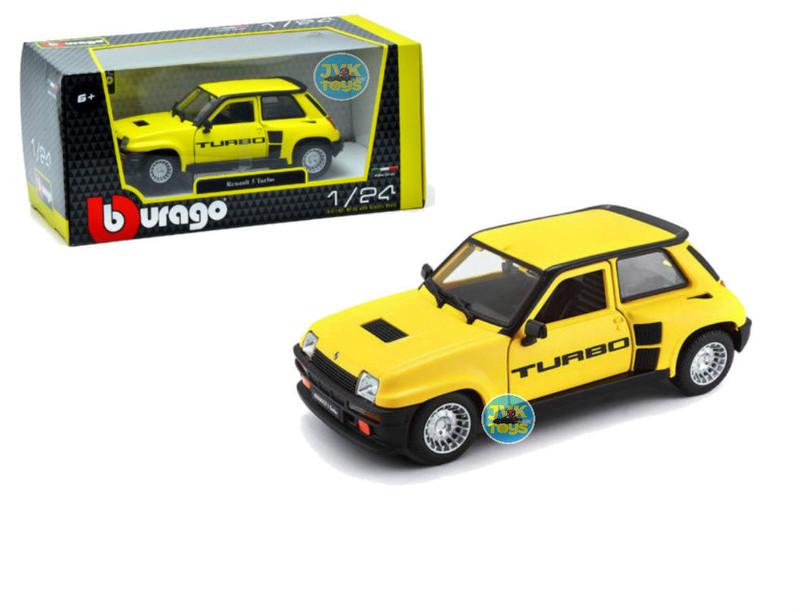 BBURAGO - Renault 5 Turbo 1:24 Yellow