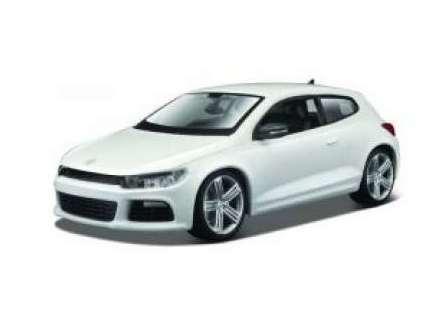 BBURAGO - Volkswagen Scirocco R 1:24 White PLUS