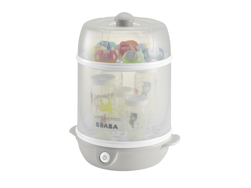 BEABA - Elektrický sterilizátor Express - šedý