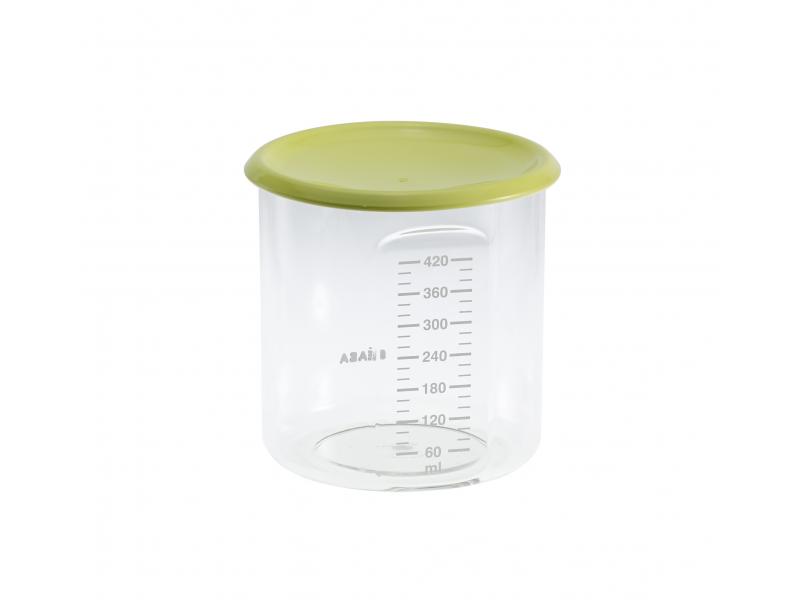 BEABA - Kelímek na jídlo 420 ml - zelený