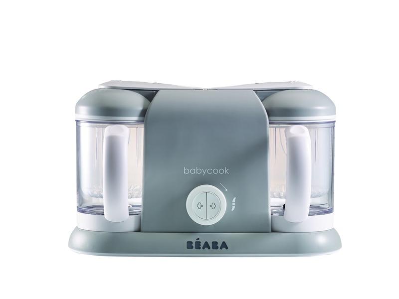 BEABA - Parní vařič + mixér BABYCOOK DUO šedý