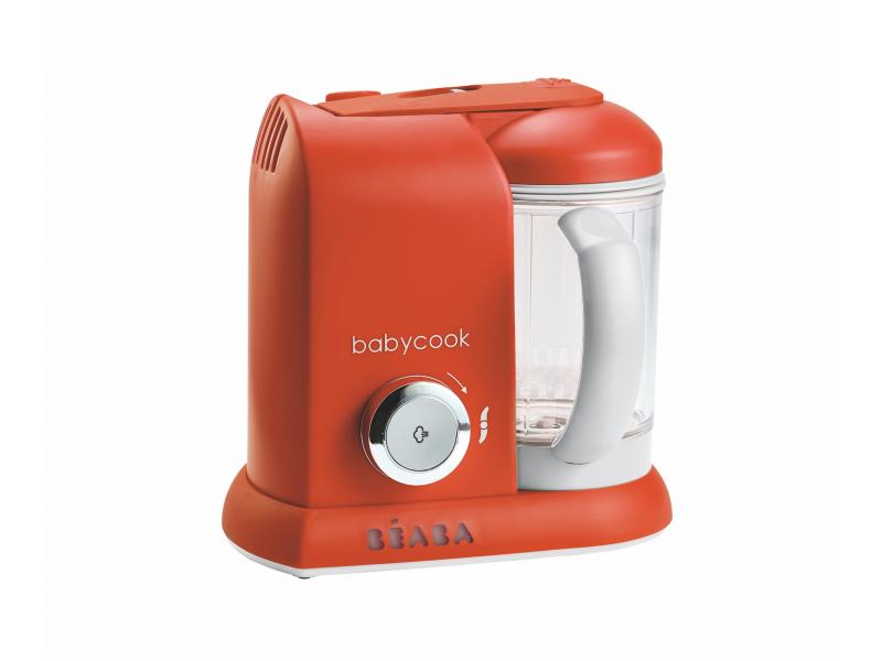BEABA - Parní vařič + mixér BABYCOOK paprika