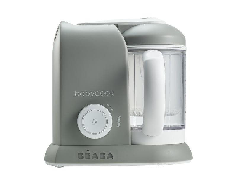 BEABA - Parní vařič + mixér BABYCOOK SOLO šedý