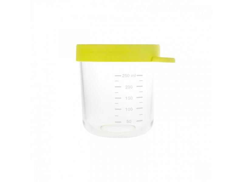 BEABA - Kelímek na jídlo skleněný 250ml