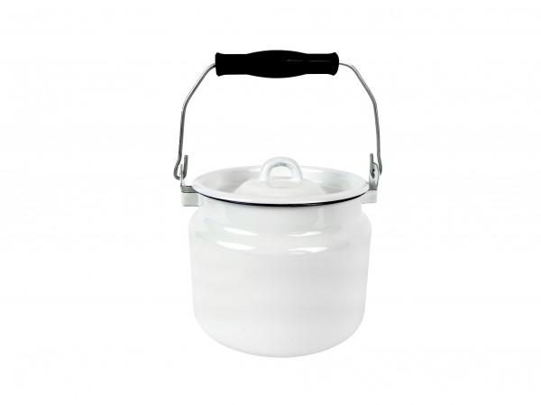 BELIS - Konvička na mléko 2L bílá