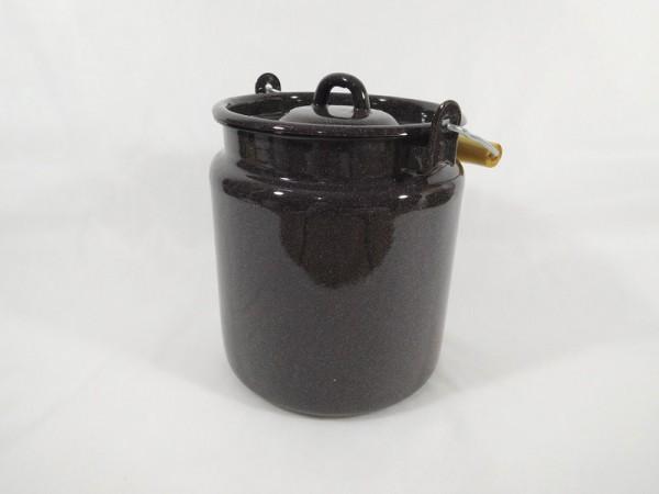 BELIS - Konvička na mléko 3,5L granit