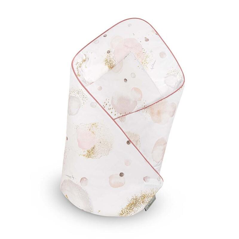 BELISIMA - Zavinovačka s výztuží Bubbles růžová